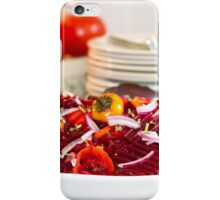 Marinated Beet Salad And Recipe  iPhone Case/Skin