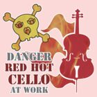 Red Hot Cello by evisionarts