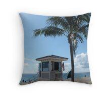 Las Olas Blvd Ft Lauderdale, FL 091110 Throw Pillow
