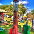 Antique Gas Pump by ECH52