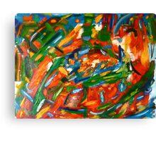 Vibrant Exploration Canvas Print