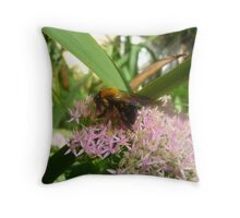 bumblebeeeeee Throw Pillow