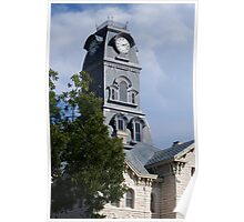 Hood County courthouse, Granbury, Texas Poster