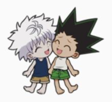 Killua and Gon by amppharos