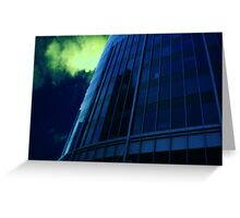 Cityscapes - Blue at Midnight Greeting Card