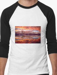 Rolling Thunder Sunset Men's Baseball ¾ T-Shirt