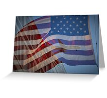 Tribute to 9/11 Greeting Card
