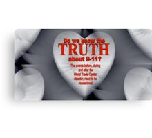 THE TRUTH Canvas Print