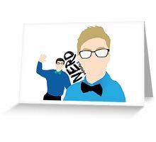 Nerd Vandals Greeting Card