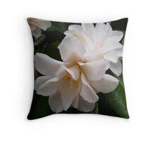 Passionate Petals of Love Throw Pillow