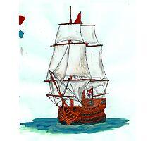Tall ship Photographic Print