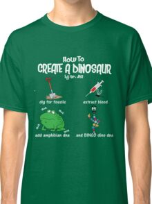 Guide to a Dinosaur Classic T-Shirt