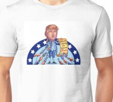 Trump:  Give Me Liberty or Give Me Press Unisex T-Shirt