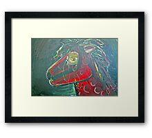 Pony- my little pony Framed Print
