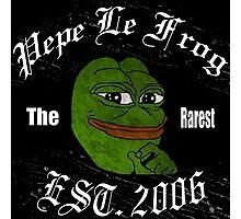 Pepe Photographic Print