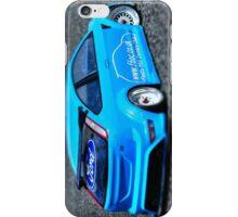 Modified Blue Ford Fiesta iPhone Case/Skin
