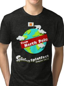 Splatfest Team North Pole v.1 Tri-blend T-Shirt