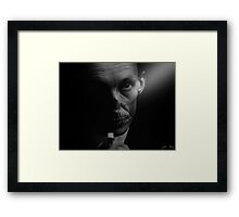 Death Framed Print