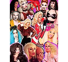 RuPaul's Drag Race Collage Photographic Print