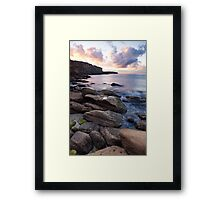Crater Cove Sunrise HDR Framed Print