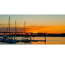 End of day Photographic Print