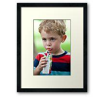 Juicy Juice Framed Print