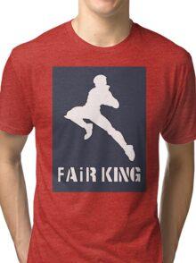Eden Of The East 'Air King' Parody Forward Air King Tri-blend T-Shirt