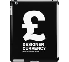 DESIGNER CURRENCY iPad Case/Skin