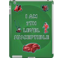 7th Level Susceptible iPad Case/Skin