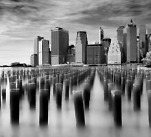 Brooklyn Pilings by Jessica Jenney