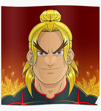 Ken Masters (Street Fighter V) Poster