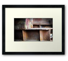 Fifty Eight Framed Print