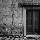 door & bike by gompo