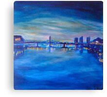 Battersea Bridge Canvas Print