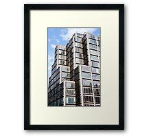 Blocks On Blocks Framed Print