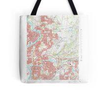 Massachusetts  USGS Historical Topo Map MA Springfield North 351331 1972 25000 Tote Bag
