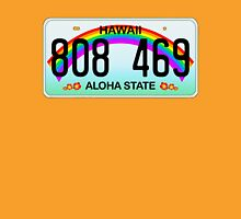 Hawaii license plate Womens Fitted T-Shirt