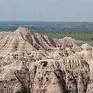 Badlands Panorama by Daniel Owens