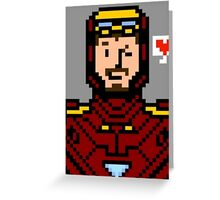tony stark Greeting Card