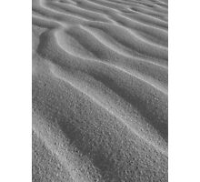 silver sand Photographic Print