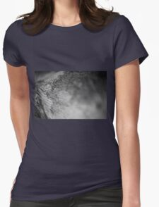 Tree bark Womens Fitted T-Shirt