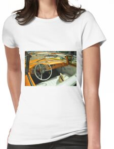 Convertible Interior  Womens Fitted T-Shirt