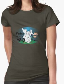 Horton Hears a Who Womens Fitted T-Shirt