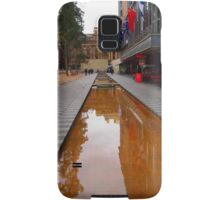City Square on a wet day Melbourne VIC Australia Samsung Galaxy Case/Skin