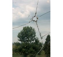 Bullet Hole Photographic Print