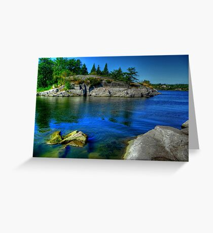 Heart of the Canadian Shield Greeting Card