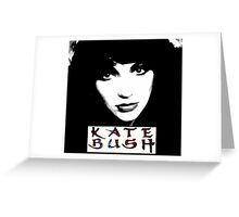 Kate Bush / Goddess Greeting Card