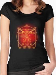 Eva Vitruvian Women's Fitted Scoop T-Shirt