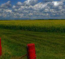 Prairie Splendour Sticker