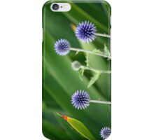 Small blue planet iPhone Case/Skin